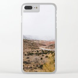 Mist in New Mexico Clear iPhone Case