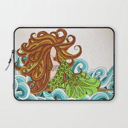 Mermaid Waves Laptop Sleeve