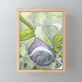 Garden Snail Spirit Framed Mini Art Print