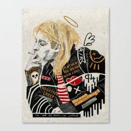 Kurt. Canvas Print
