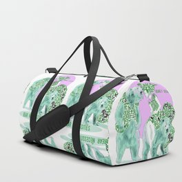 Bear Necessities #1a Bearly Secret Duffle Bag