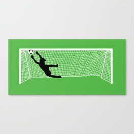 Leaping Keeper Canvas Print