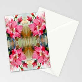 Floral Ribbon Stationery Cards