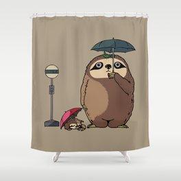 SlothTORO Shower Curtain