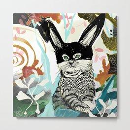 Masked Sand Cat  Metal Print