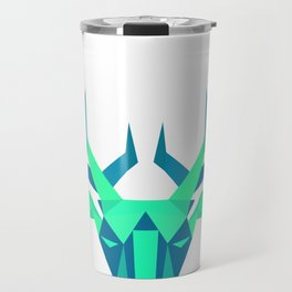 Geometrical Crystal Deer Travel Mug