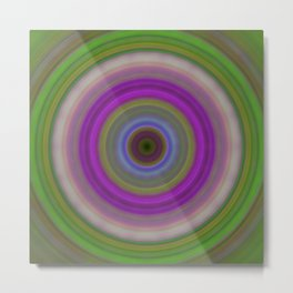 Introspection - Energy Art By Sharon Cummings Metal Print