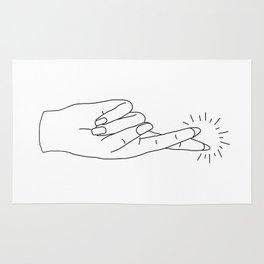 Fingers Crossed Rug