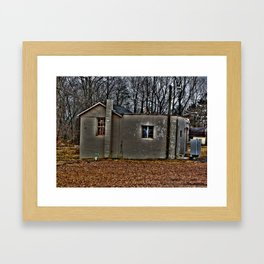 Ambiguous Structure - Central Jersey Framed Art Print