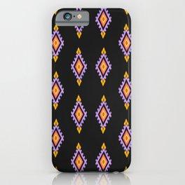 tribal ethnic pattern iPhone Case