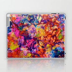 EVERYBODY'S COASTER- Bold Abstract Acrylic Painting Wine Glass Coaster Wow Autumn Home Decor Gift  Laptop & iPad Skin