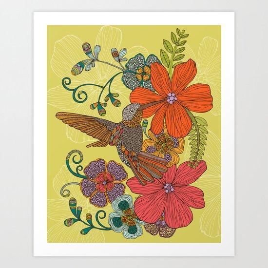 Humming Heaven Art Print