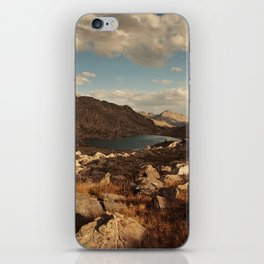 Wind River Mountains and Alpine Lake iPhone Skin