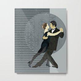 Tango Metal Print