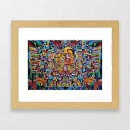 Ascending Chavin Eagle Framed Art Print