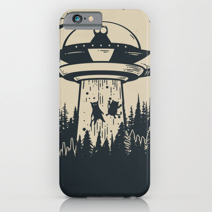 Unidentified Feline Object iPhone Case