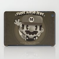 mario bros iPad Cases featuring Mario Bros Fan Art by danvinci