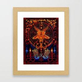 Worship No One Framed Art Print