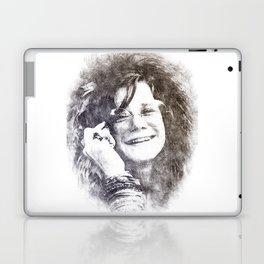 Janis Portrait 01 Laptop & iPad Skin