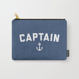 Captain Nautical Quote Carry-All Pouch