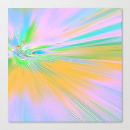 Re-Created Rapture 5 by Robert S. Lee Canvas Print