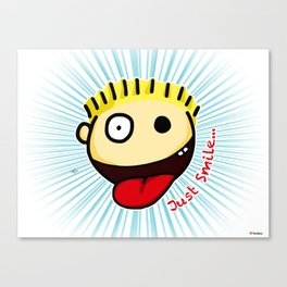 The Sbirù - Just Smile... Canvas Print