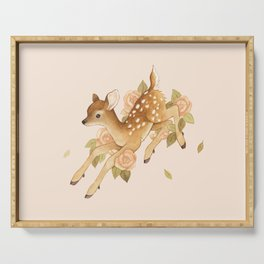 Hopping Fawn Serving Tray