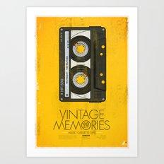 Vintage Memories Art Print