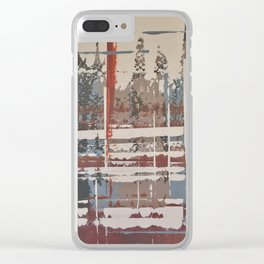 Waterlogged Clear iPhone Case