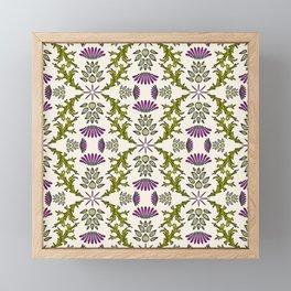 Wild Thistle Meadow Framed Mini Art Print