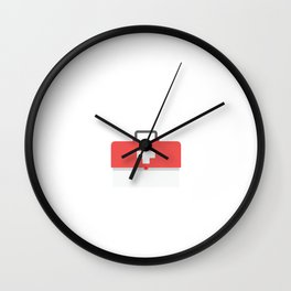 God's Words Are First Aid for Our Souls Religious T-Shirt Wall Clock