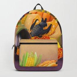 Commisions | Bat autumn harvest Backpack