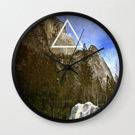 Looking Glass Wall Clock