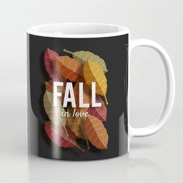 'Fall in Love' - Seasonal Print Coffee Mug
