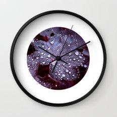 night colors IX Wall Clock