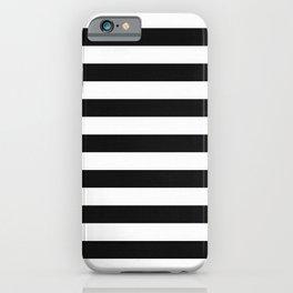 Horizontal Stripe Pattern iPhone Case