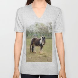 Horse love Unisex V-Neck