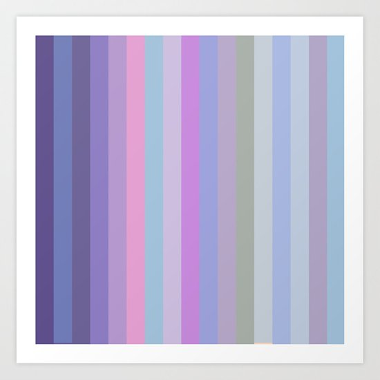 New Stripes # 5 Art Print