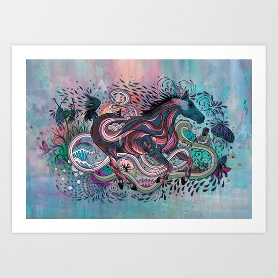 Poetry in Motion Art Print
