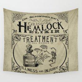 Dr. Schwindler's Original Hemlock Elixir Wall Tapestry