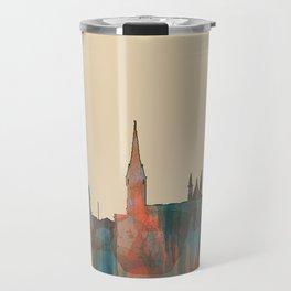 Cork, Ireland Skyline - Navaho Travel Mug
