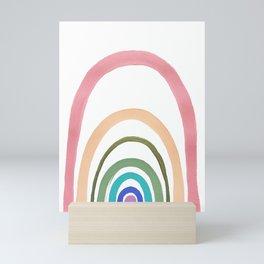 Rainbow Fairyland Mini Art Print
