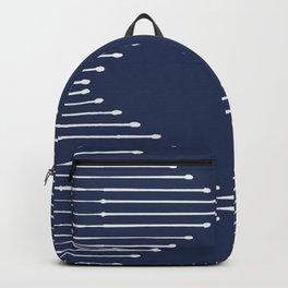 Geo / Navy Backpack