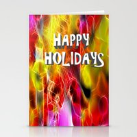 holiday Stationery Cards featuring Holiday by BeachStudio