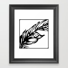 STATIONERY CARD - Flow Framed Art Print