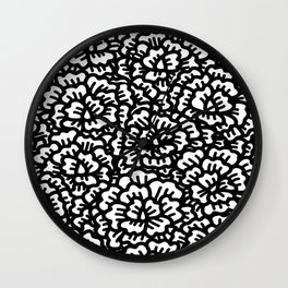 KAOU {B+W} Wall Clock