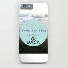Beach And Back Slim Case iPhone 6s