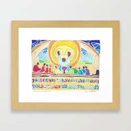 The Last and The First Framed Art Print