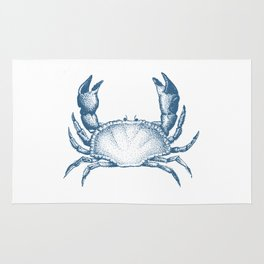 Mr. Blue Crab Rug