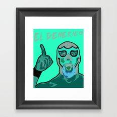 ROH El Generico Framed Art Print
